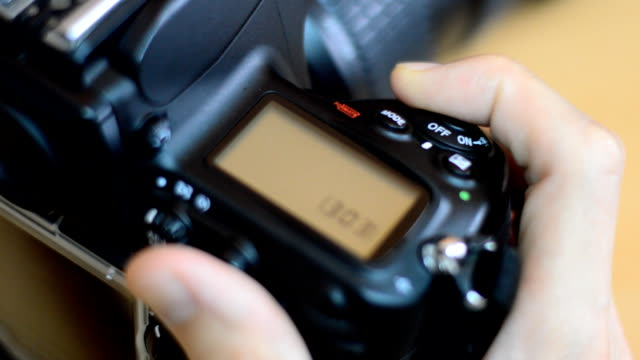 Camera shooting Camera shooting with shutter sound. photo shoot stock videos & royalty-free footage