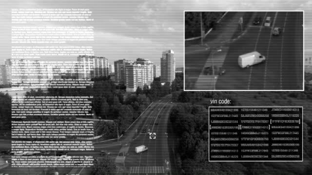 vídeos y material grabado en eventos de stock de cámara de control de tráfico - coordinación