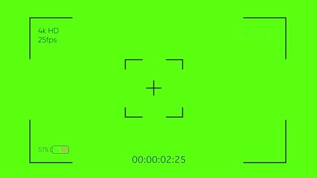 kamerasucher. kameraaufnahme bildschirm mit alpha-kanal im loop-modus. tv rec - schlüssel videos stock-videos und b-roll-filmmaterial