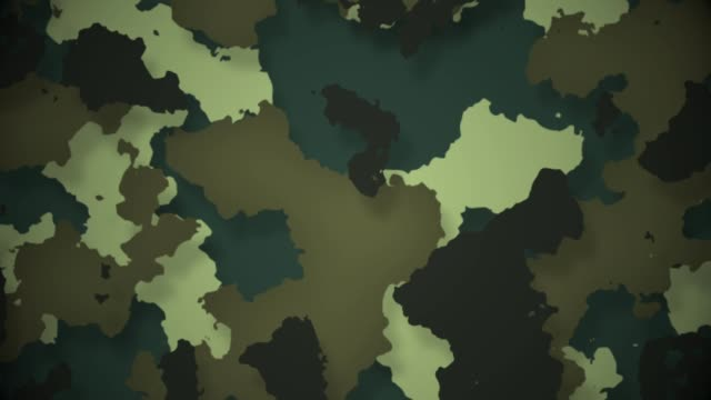 Camouflage military background - vídeo