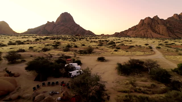 HELI Camp By The Spitzkoppe video