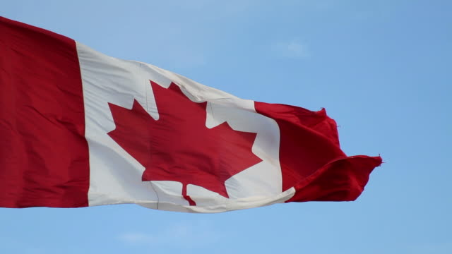 Canadian flag video