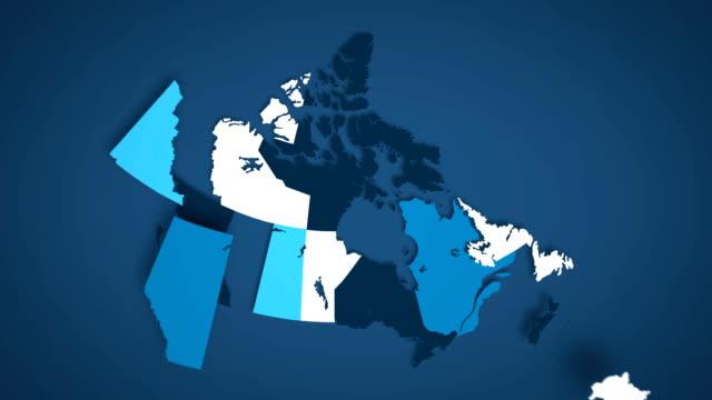 Video Canadian Provinces Combine A