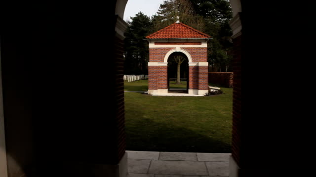 Canadian War Cemetery-chapel and cemetery video