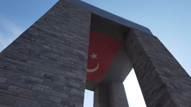 Canakkale Martyrs' Memorial The Canakkale Martyrs' Memorial is a war memorial commemorating the service of about 253,000 Turkish soldiers who participated at the Battle of Gallipoli. It is located within the Gallipoli Peninsula in Çanakkale Province, Turkey. çanakkale province stock videos & royalty-free footage