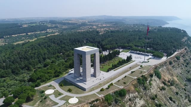 Canakkale The Martyrs Memorial Canakkale The Martyrs Memorial çanakkale province stock videos & royalty-free footage