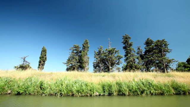 ミディ運河 - はしけ点の映像素材/bロール