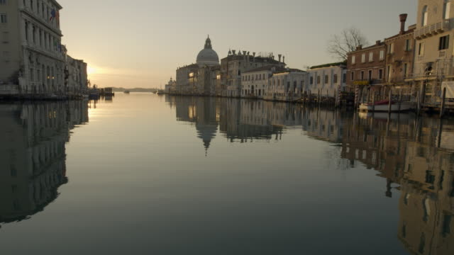 Canal Grande all'aba