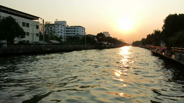 Canal in Bangkok – Venice of Asia video