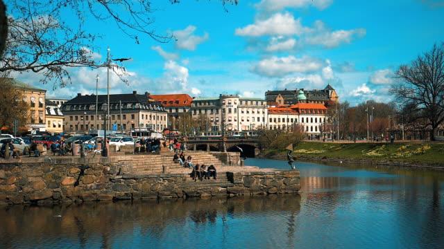 kanalen i göteborgs stad - gothenburg bildbanksvideor och videomaterial från bakom kulisserna