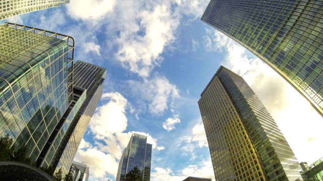 Canary Wharf, Financial District in London video