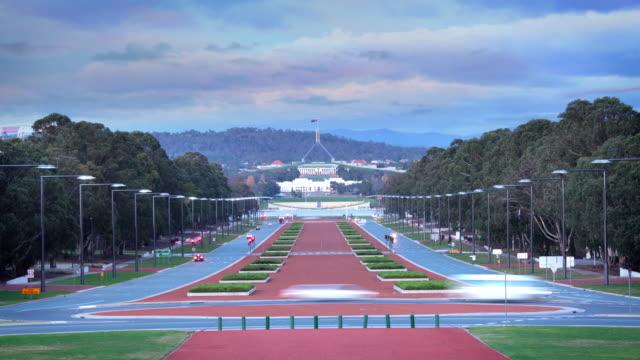 キャンベラ,オーストラリア - 民主主義点の映像素材/bロール
