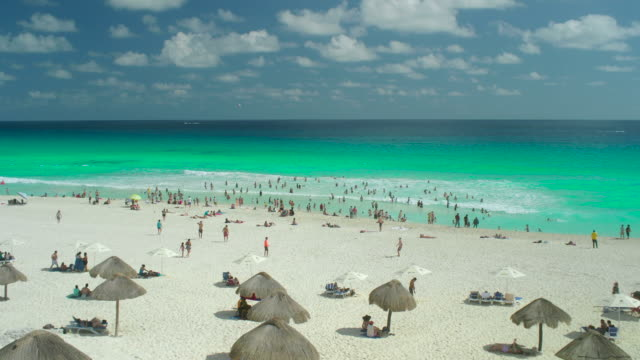 Cancun Beach video
