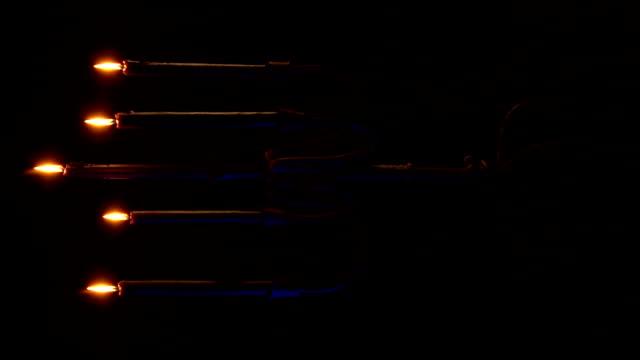 Candelabra Vert - Blue Blowout