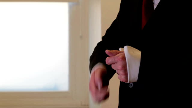 Candid dressing for business French cuffs video