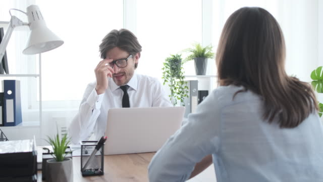 Candidate bribing the employer during a job interview