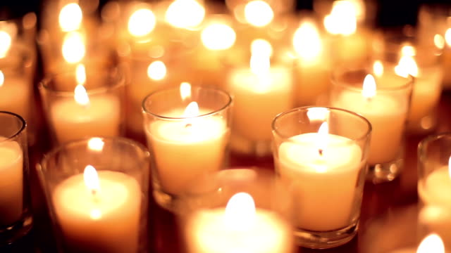 Candle Background video