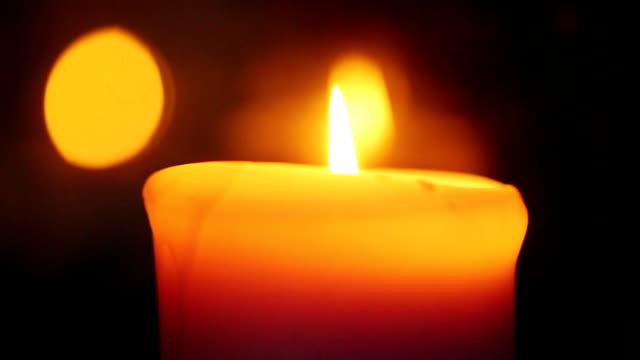 Candle Bokeh video