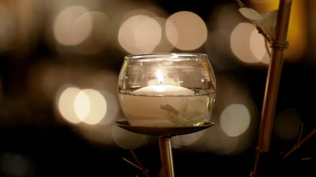 Quema de velas con Bokeh - vídeo