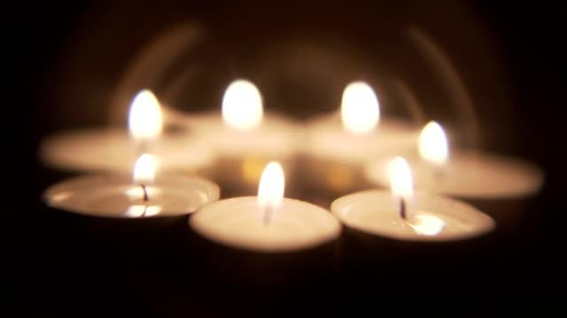 candle light background - jesus christ filmów i materiałów b-roll