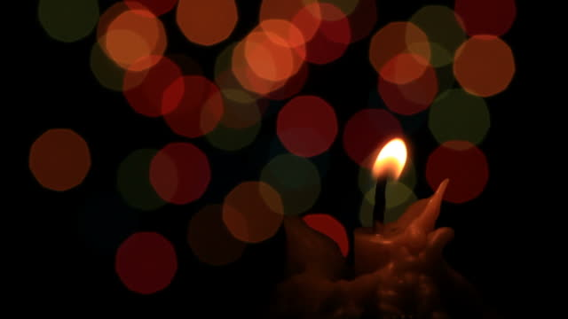 Candle light (HD) video