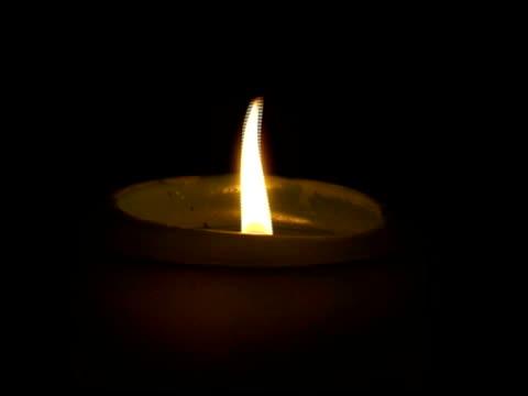 candle - 描述 個影片檔及 b 捲影像