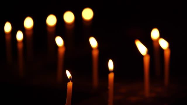 Candles At Diwali Night