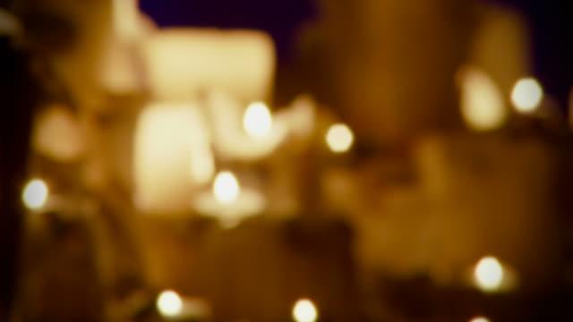 Candles Defocused Seamless Loop - Full HD video