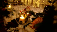 istock Candles on the table decoration for a wedding evening 1216830560