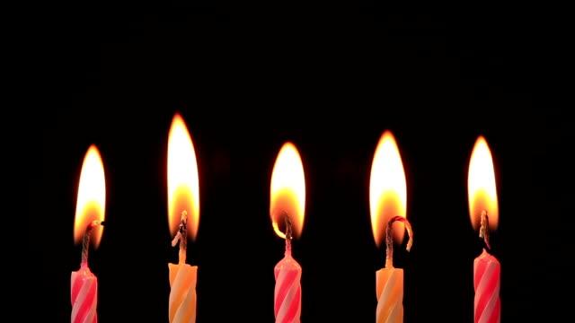 candles - age bildbanksvideor och videomaterial från bakom kulisserna