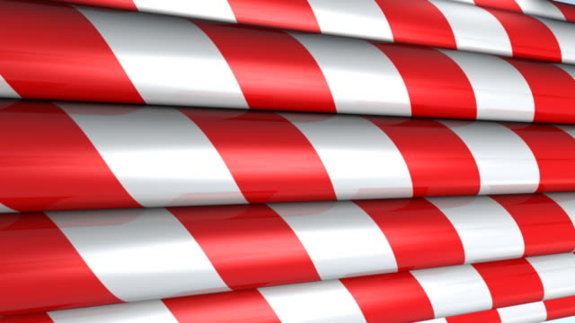Candy Cane Christmas Background video