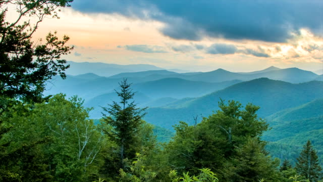 Caney Fork Overlook on the Blue Ridge Parkway video