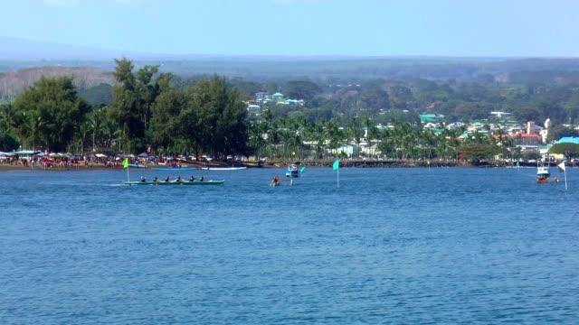 Canoe Races - Hilo, Hawaii video