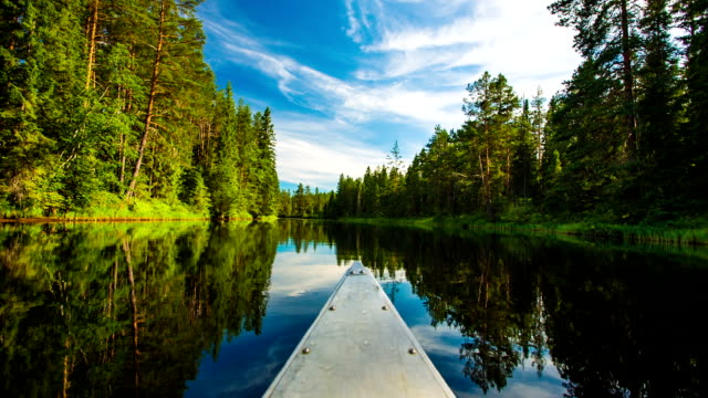 Canoeing in Sweden video