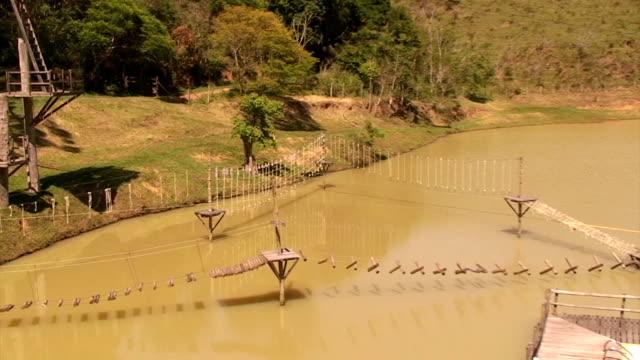 zwiedzanie na tyrolce - ekoturystyka filmów i materiałów b-roll