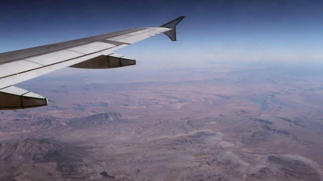 Canyon View from Plane HD video