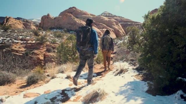 canyoneering i moab, utah - nationalpark bildbanksvideor och videomaterial från bakom kulisserna