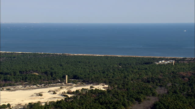 Cape Henlopen State Park  - Aerial View - Delaware,  Sussex County,  United States