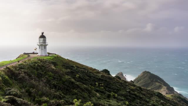 Cape Reinga Lighthouse - Time Lapse video