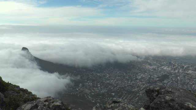 Cape Town City View from Table Mountain. Cape Town City View from Table Mountain. cape peninsula stock videos & royalty-free footage