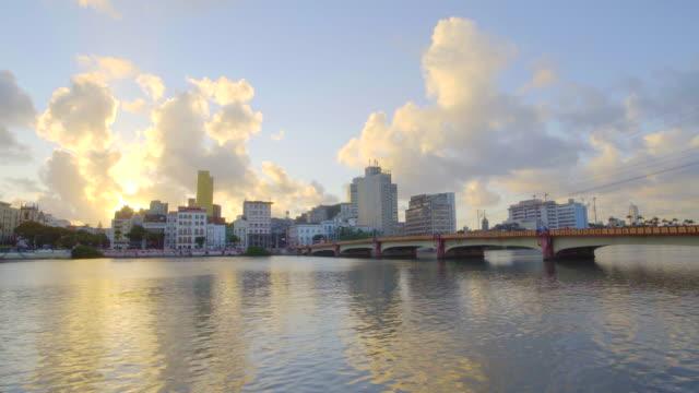 Capibaribe River at Recife in Pernambuco, Brazil