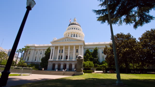 Capital building of Califprnia video
