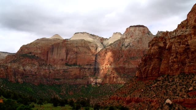 capital reef cliff timelapse video