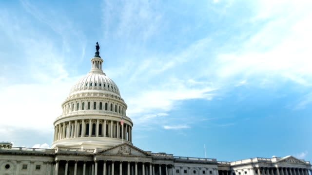 US Capitol Building / Congress Washington DC Time-Lapse video