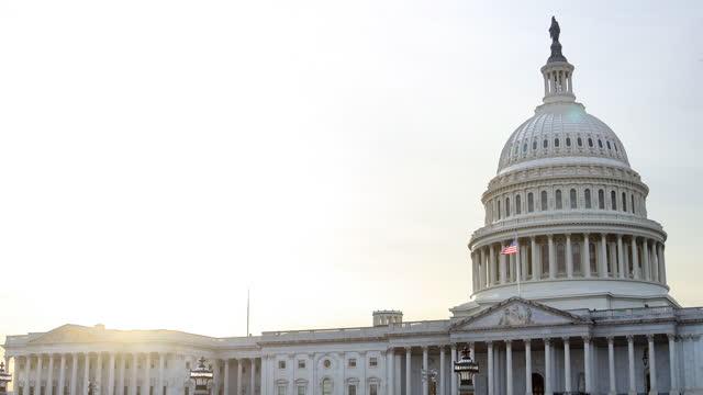 US Capitol Building - East Front - Washington, D.C. - Sunset