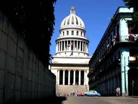 Capitol building from side street, Havana, Cuba PAL