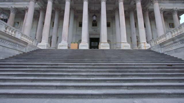U.S. Capitol Building House of Representatives Tilt Up Steps in Washington, DC