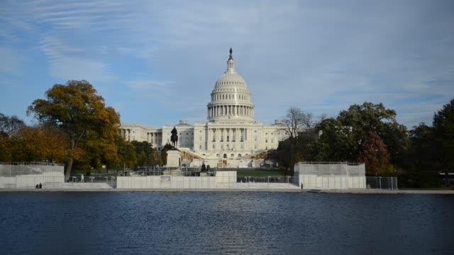 U.S. Capitol Building in Washington DC, USA video