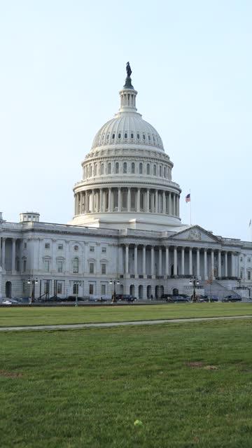 U.S. Capitol Building - Washington, D.C. - Vertical