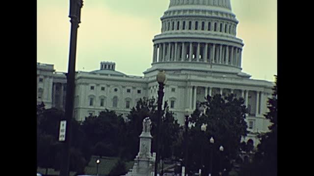 vidéos et rushes de capitol building washington dc - capitales internationales